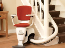 Curved stair lift prices Petersham