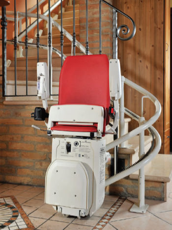 Curved stairlift supplier in the UK