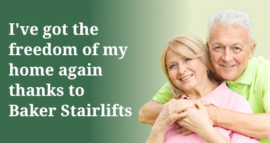 Get your independence back with Baker Stairlifts