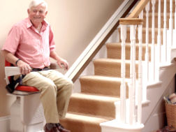 Straight stair lift prices Linton